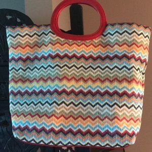 Handbags - Darling colorful open toed!